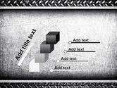 Metal Texture PowerPoint Template#14