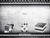 Metal Texture PowerPoint Template#19