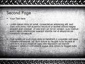 Metal Texture PowerPoint Template#2