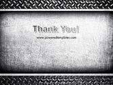 Metal Texture PowerPoint Template#20