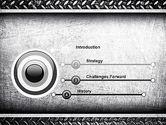 Metal Texture PowerPoint Template#3