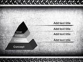 Metal Texture PowerPoint Template#4