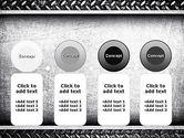 Metal Texture PowerPoint Template#5