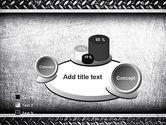 Metal Texture PowerPoint Template#6