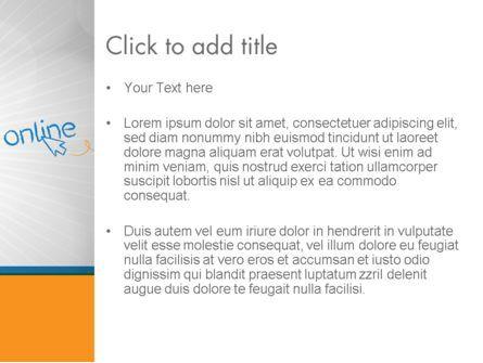 Online PowerPoint Template, Slide 3, 12588, Careers/Industry — PoweredTemplate.com