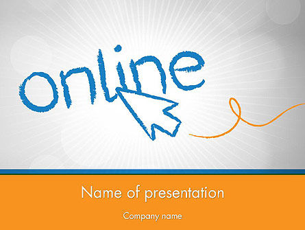 Careers/Industry: Online PowerPoint Template #12588