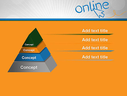 Online PowerPoint Template Slide 12