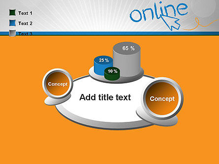 Online PowerPoint Template Slide 16