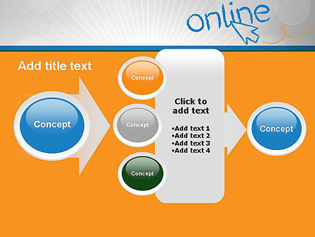 Online PowerPoint Template Slide 17