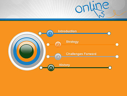 Online PowerPoint Template Slide 3