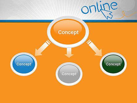 Online PowerPoint Template, Slide 4, 12588, Careers/Industry — PoweredTemplate.com