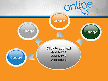 Online PowerPoint Template Slide 7