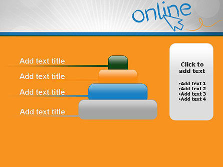 Online PowerPoint Template Slide 8