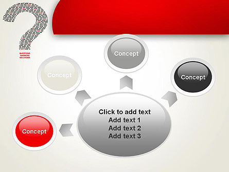 Questions Answers Solutions PowerPoint Template Slide 7