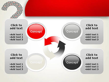 Questions Answers Solutions PowerPoint Template Slide 9