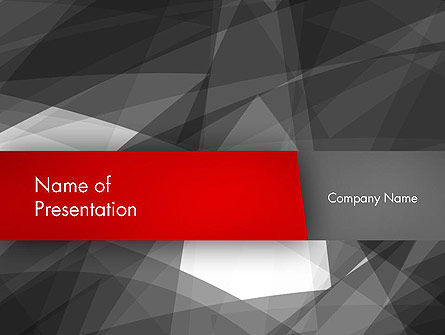 Abstract Broken Surfaces PowerPoint Template