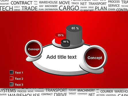 Word Cloud For Logistic Distribution PowerPoint Template Slide 16