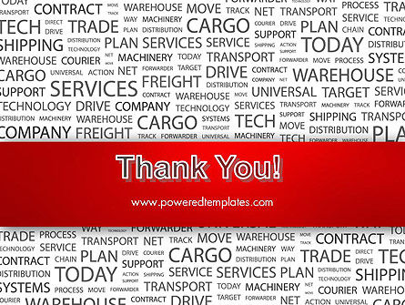 Word Cloud For Logistic Distribution PowerPoint Template Slide 20