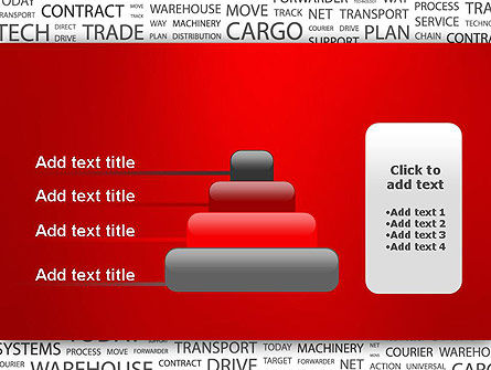 Word Cloud For Logistic Distribution PowerPoint Template Slide 8