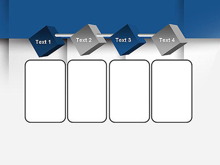 Abstract Square Surfaces PowerPoint Template Slide 18