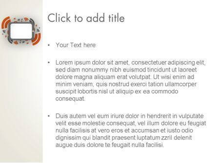 Online News Concept PowerPoint Template, Slide 3, 12595, Careers/Industry — PoweredTemplate.com