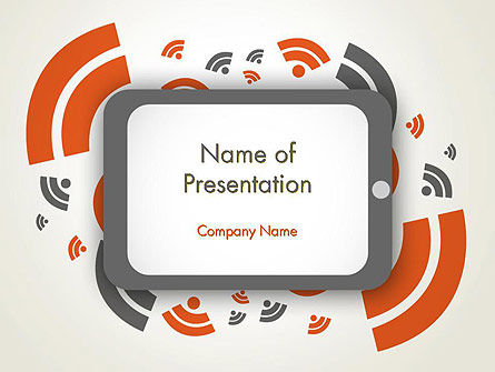 Online News Concept PowerPoint Template