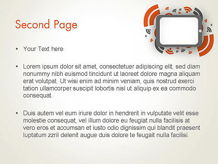 Online News Concept PowerPoint Template Slide 2