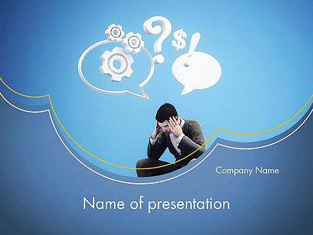 Challenge PowerPoint Template, 12596, Consulting — PoweredTemplate.com