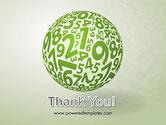 Sphere Of Numbers PowerPoint Template#20