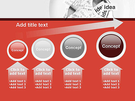 Feeding Brain Ideas PowerPoint Template Slide 13