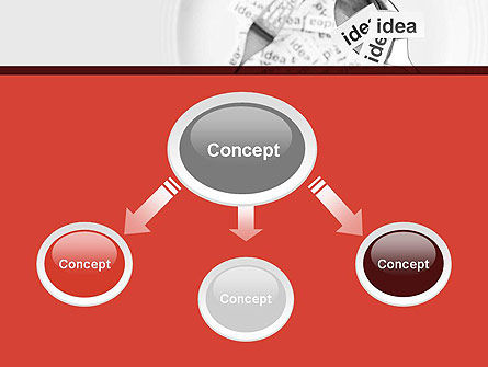 Feeding Brain Ideas PowerPoint Template Slide 4