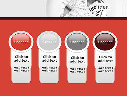 Feeding Brain Ideas PowerPoint Template Slide 5