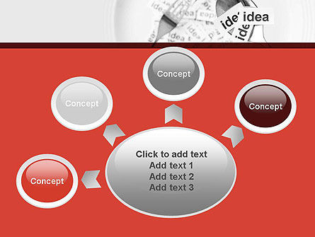 Feeding Brain Ideas PowerPoint Template Slide 7