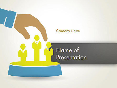 Careers/Industry: HR Management PowerPoint Template #12602