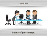 Business: Corporate Board Meeting PowerPoint Template #12603