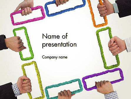 Business Team Solutions PowerPoint Template