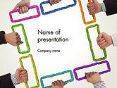 Business Concepts: ビジネスチームのソリューション - PowerPointテンプレート #12605