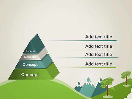 Landscape for Kids PowerPoint Template, Slide 4, 12611, Education & Training — PoweredTemplate.com