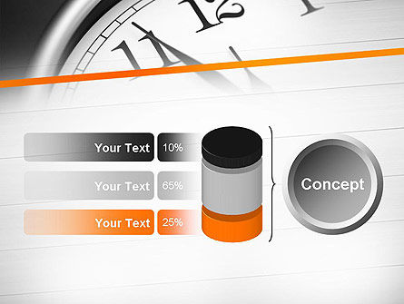 Five Minutes to Twelve PowerPoint Template Slide 11