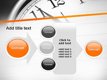 Five Minutes to Twelve PowerPoint Template Slide 17