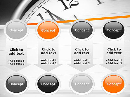 Five Minutes to Twelve PowerPoint Template Slide 18