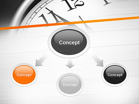 Five Minutes to Twelve PowerPoint Template, Slide 4, 12612, Business Concepts — PoweredTemplate.com
