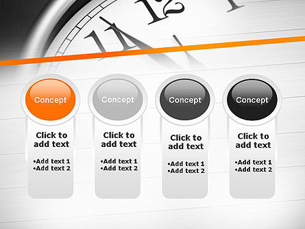 Five Minutes to Twelve PowerPoint Template Slide 5