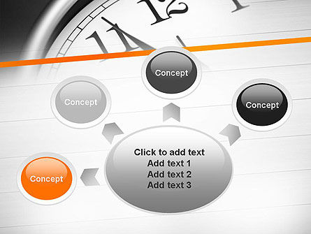 Five Minutes to Twelve PowerPoint Template Slide 7