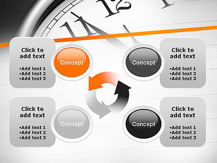 Five Minutes to Twelve PowerPoint Template Slide 9