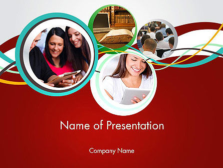 Education & Training: Student Education PowerPoint Template #12613