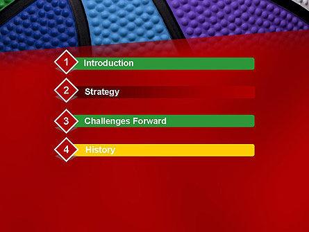 College Basketball PowerPoint Template, Slide 3, 12616, Sports — PoweredTemplate.com