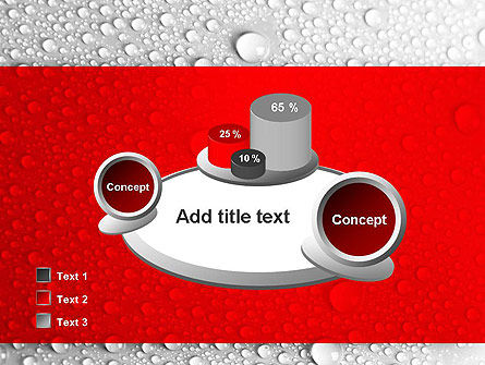 Water Drops Background PowerPoint Template Slide 16