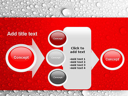 Water Drops Background PowerPoint Template Slide 17