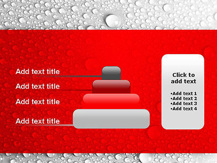 Water Drops Background PowerPoint Template Slide 8